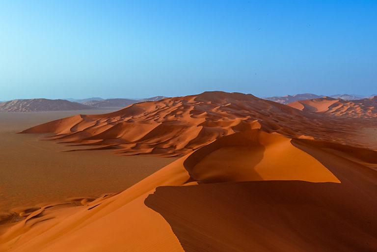 Grandioser Ausblick über das Empty Quarter, Oman