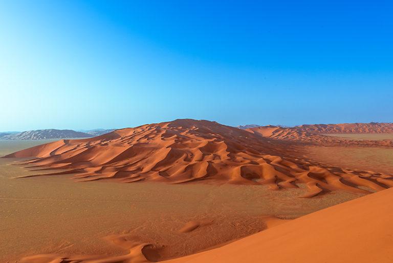 Vom Wind geformt, Düne im Oman, Wüste
