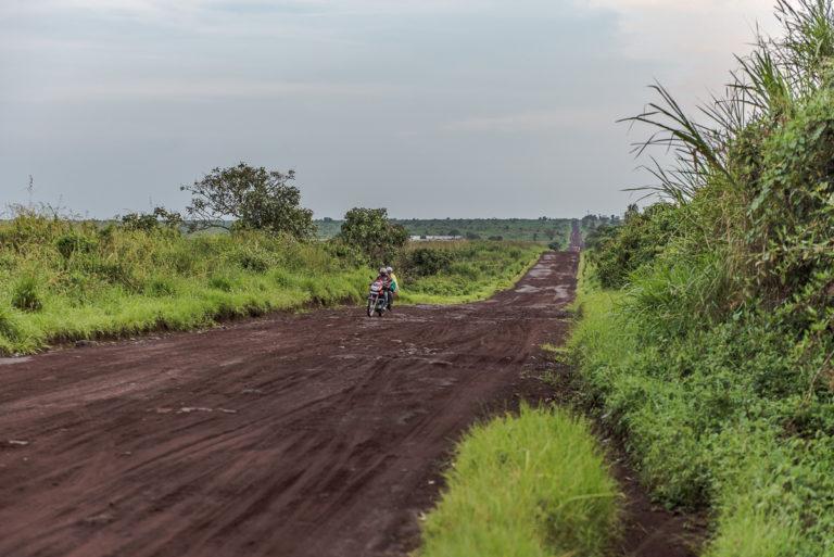Fahrt zum Nyragongo-Vulkan, bei Goma
