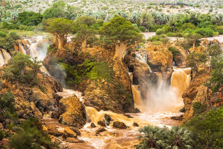epupa falls katarakte namibia