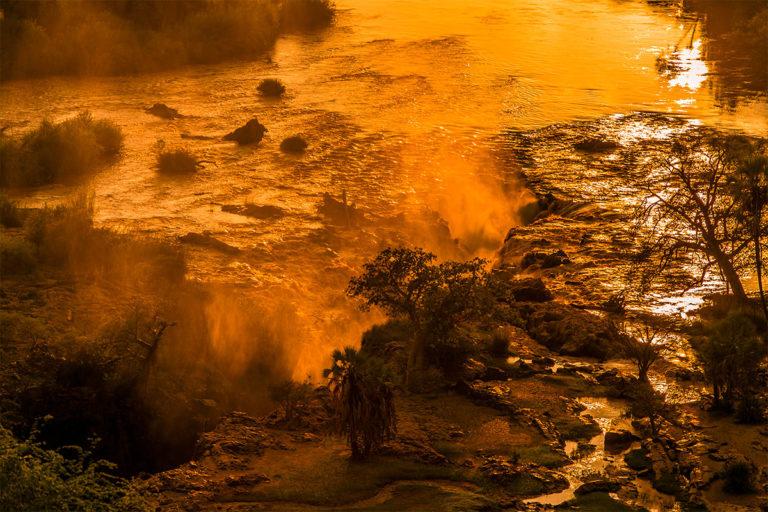 epupa falls morgenstimmung namibia