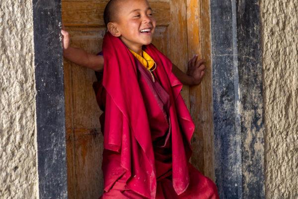 Fotoreise Ladakh, Mönchsnovize