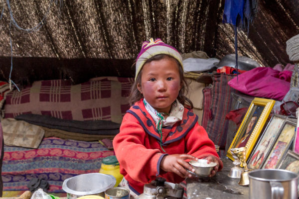 Fotoreise Ladakh, Changpa-Mädchen