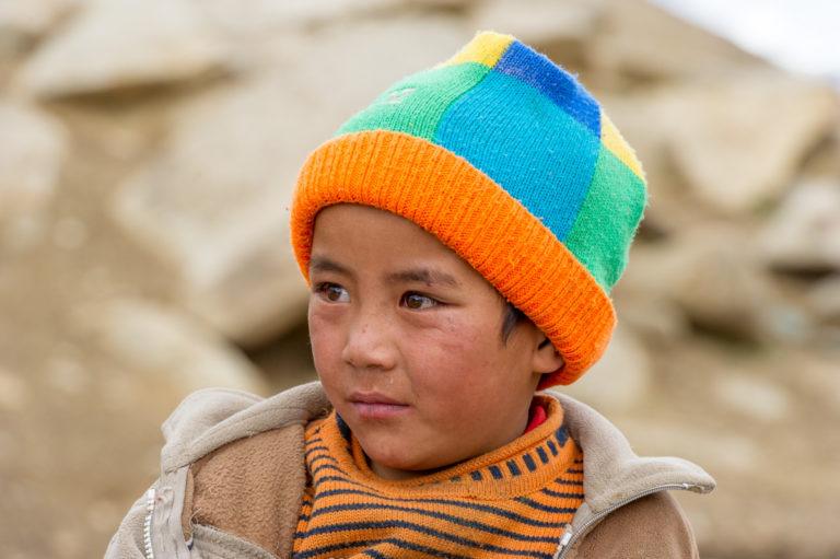 Fotoreise Ladakh, Ladakhi-Junge