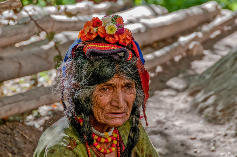 Fotoreise Ladakh, Darden-Frau