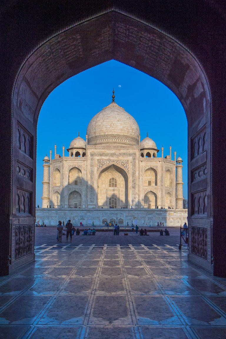Fotoreise Tigersafari Taj Mahal beim Sonnenaufgang