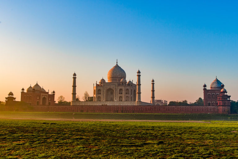 Fotoreise, Bengaltiger, Tigersafari, Taj Mahal beim Sonnenaufgang