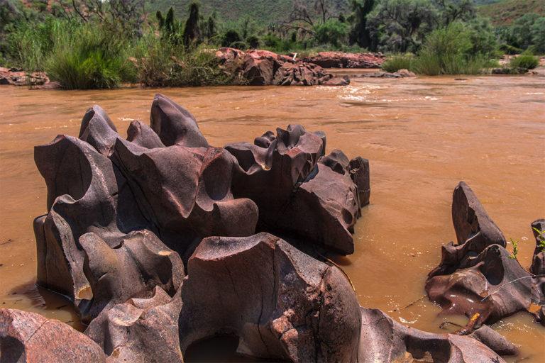 kunene river auswaschungen namibia