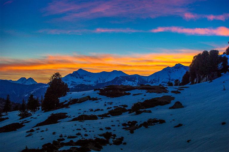 Morgengluehen-Valsertal