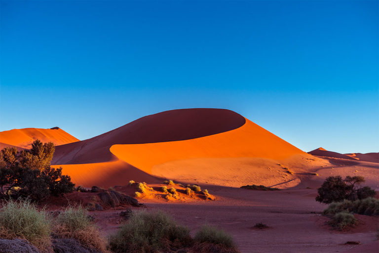 morgenstimmung sossusvlei namibia