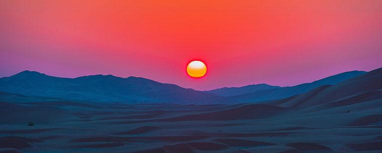 Sonnenaufgang im Oman