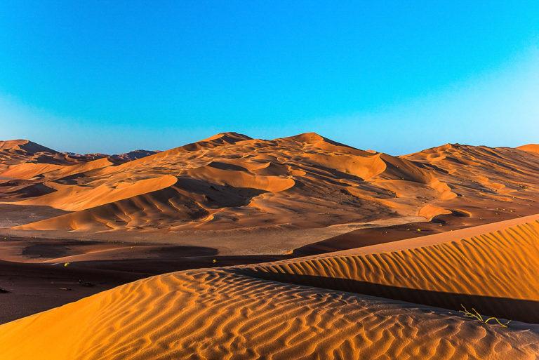 So weit das Auge reicht, Sanddünen im Oman