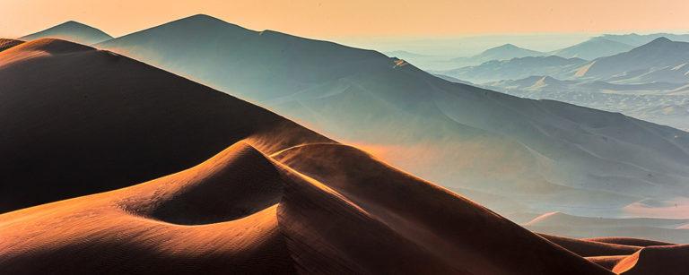 Lichtstimmung, in der Wüste im Oman