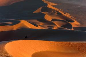 Licht und Schatten in der Rub al Khali, Oman