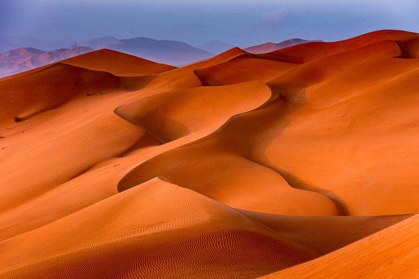 Sanddünen, Grate, Wellen und Täler im Oman, Fotoreise