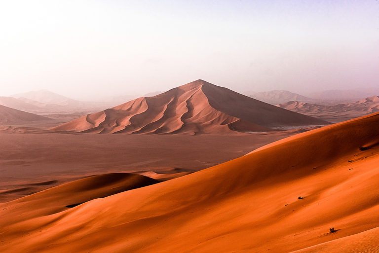 Sterndüne im Oman, Empty Quarter