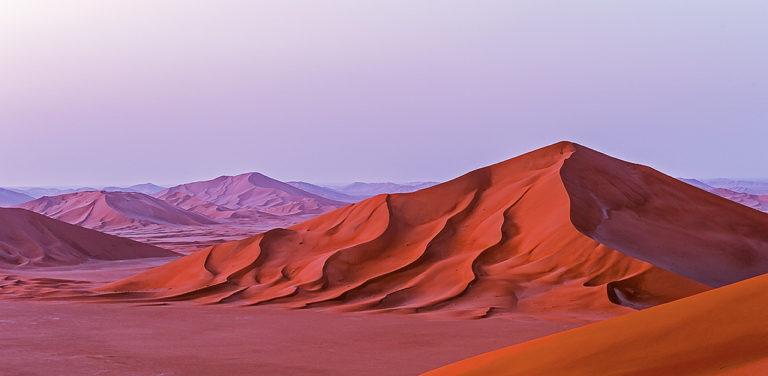 Dünen im Morgenlicht, Oman