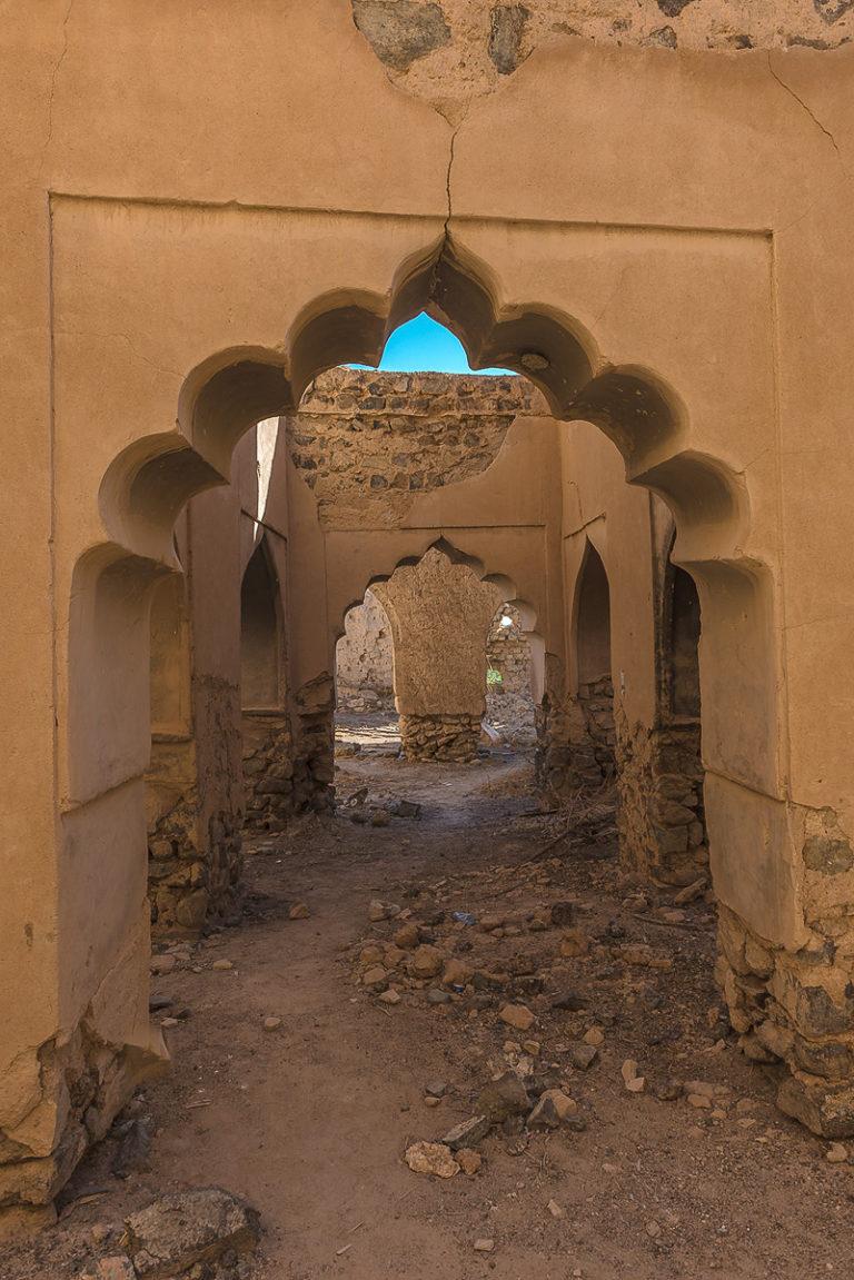 Oman verlassene Stadt