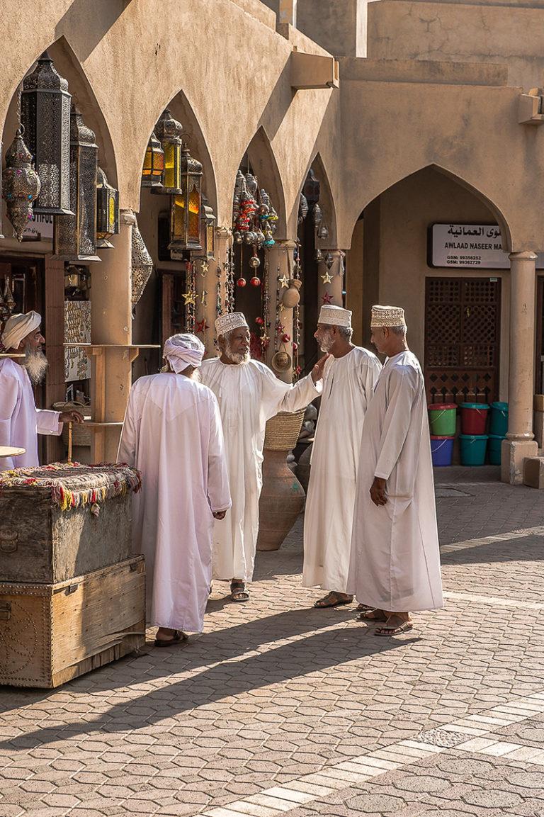 oman-ost nizwa market, Fotoreise