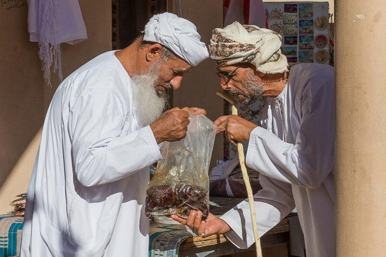 Nizwa Market, Dattelverkäufer, Fotoreise Oman