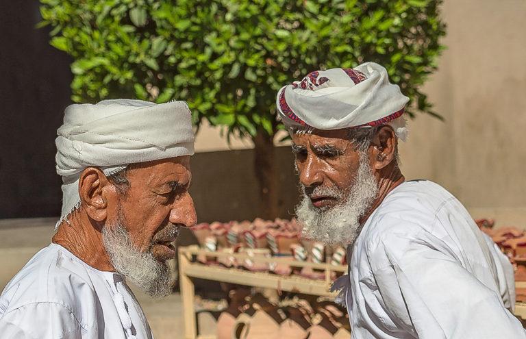 Nizwa Markt, Diskussionen, Fotoreise Oman