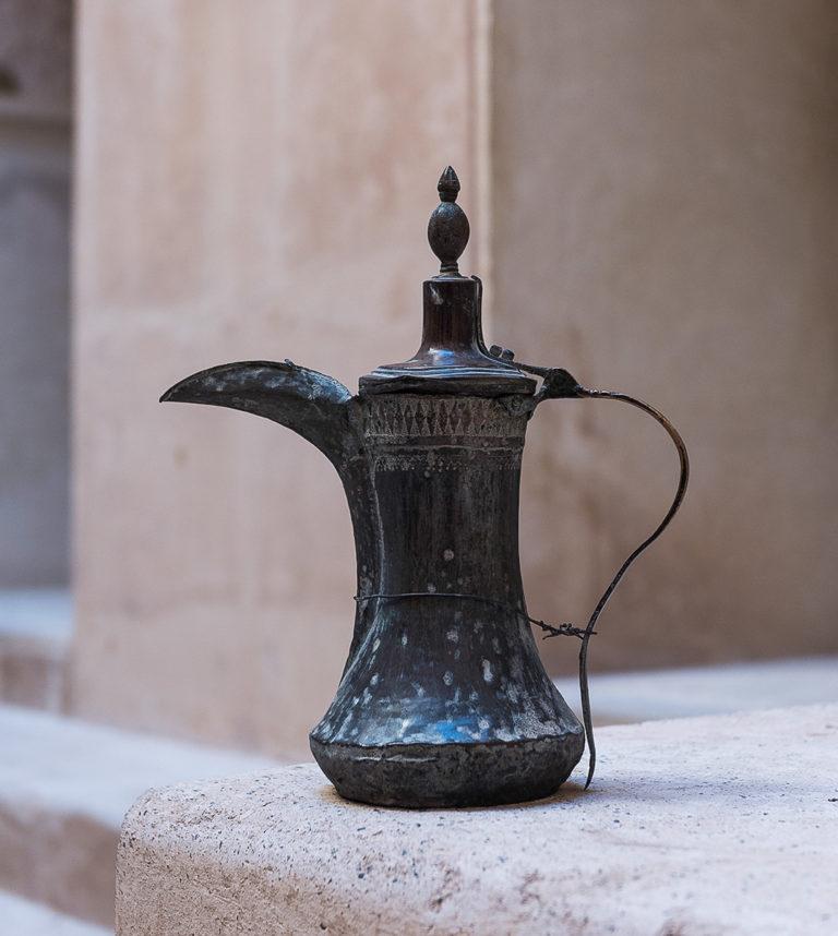 Teekanne im Oman, Fotoreise
