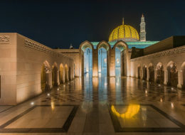 Al Quaboos-Moschee in Muscat, Fotoreise Oman