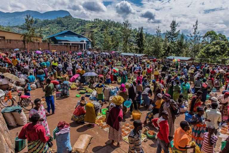 Virunga_Vulkane, Kongo, Afrika