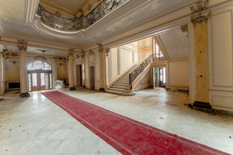 Eingangshalle zum Märchenschloss