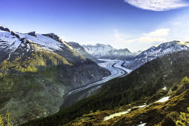 Aletschgletscher im Wallis