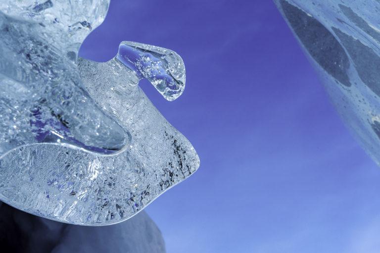 Eisfigur, am Morteratsch-Gletscher