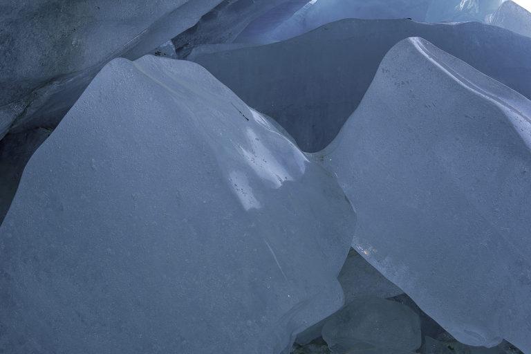 Gebrochenes Eis, Eisklötze