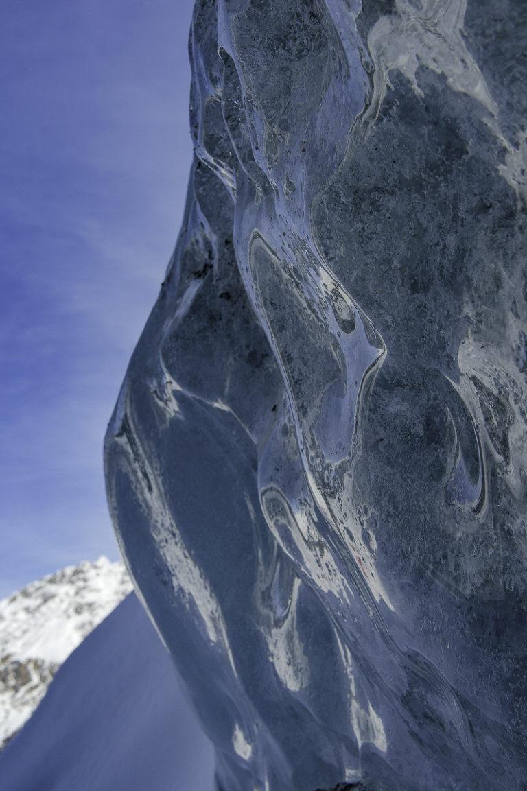 Eiswand, Morteratsch, Gletscher
