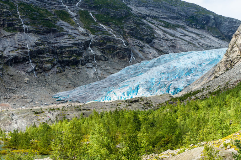 Nygardsbreen, in Norwegen