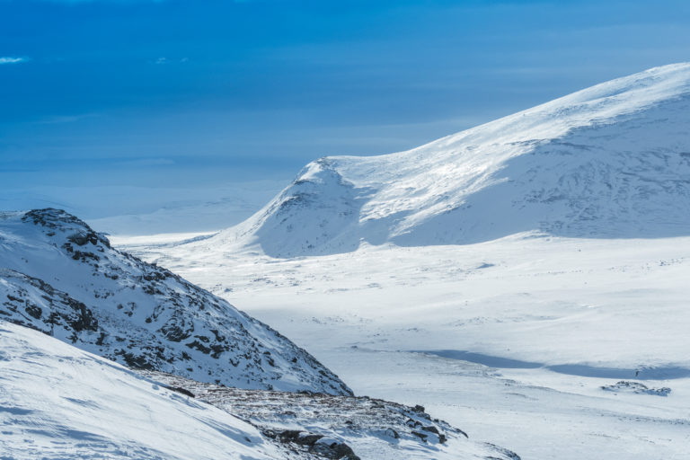 Winterlandschaft im Dovrefjell