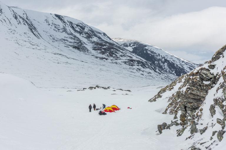 Zeltcamp im Dovrefjell zur Moschusochsen Fotoreise