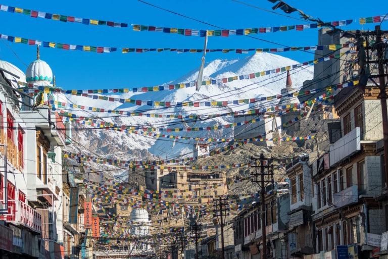 Leh die Hauptstadt von Ladakh
