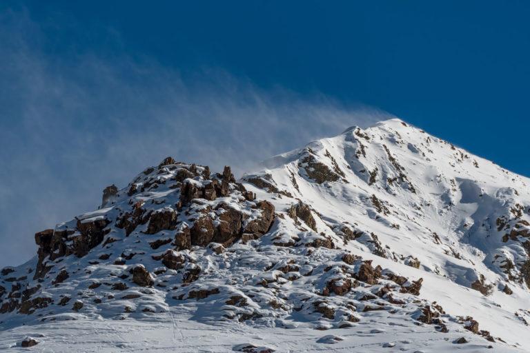 Schneesturm im Himalaya