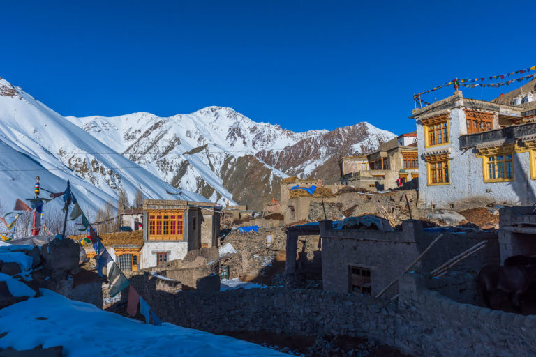 Fotoreise, Rumbak Village, 4200 m.
