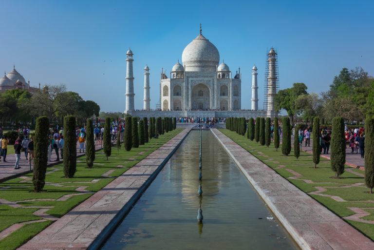 IIndien, Taj Mahal, Agra