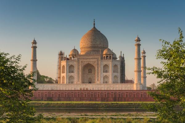 Fotoreise, Bengaltiger, Indien Taj Mahal, beim Sonnenaufgang