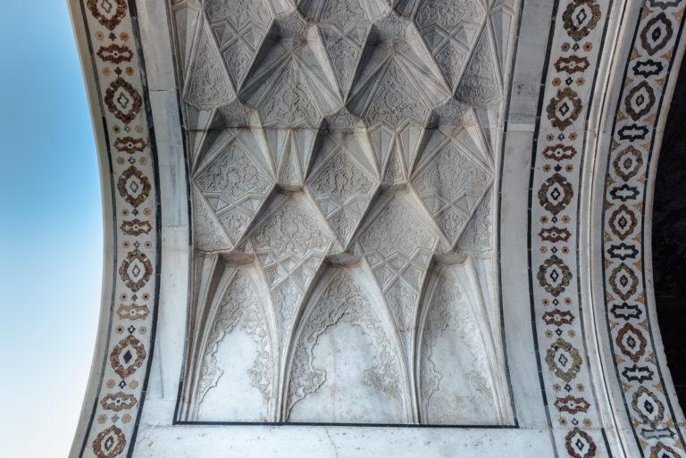 Fotoreise Indien Taj Mahal, Marmorkunstwerke