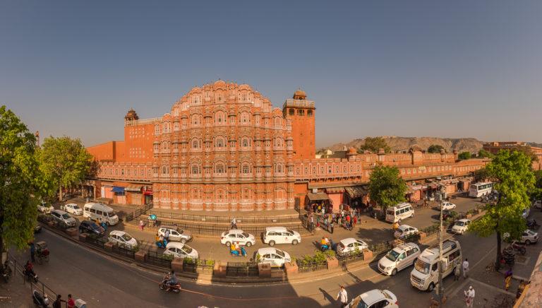 Jaipur, pink city in Indien