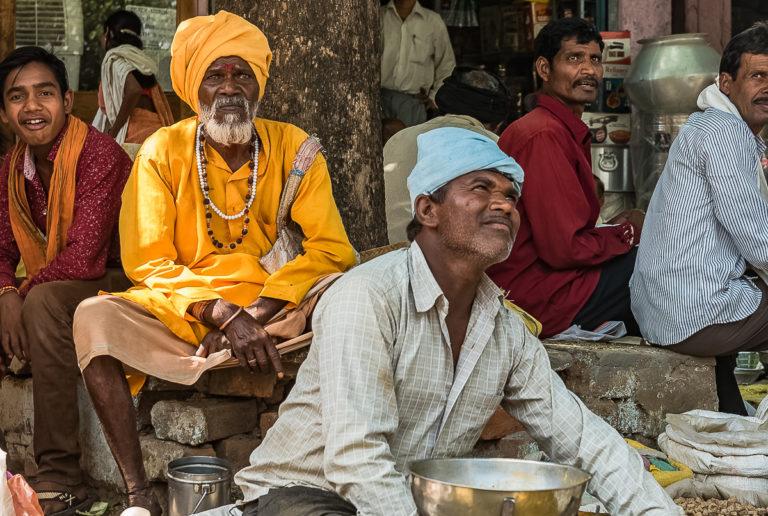 Indien, Marktverkäufer