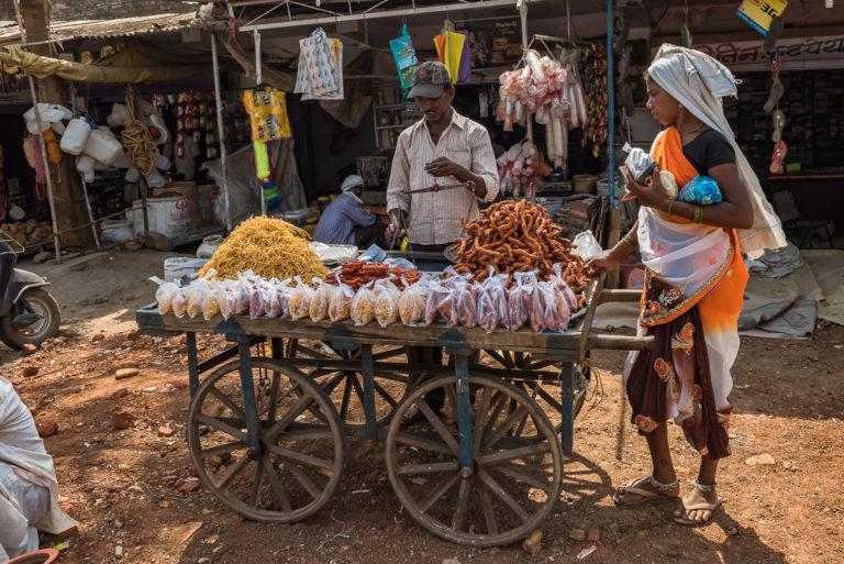 Fotoreise Indien, Marktverkäufer