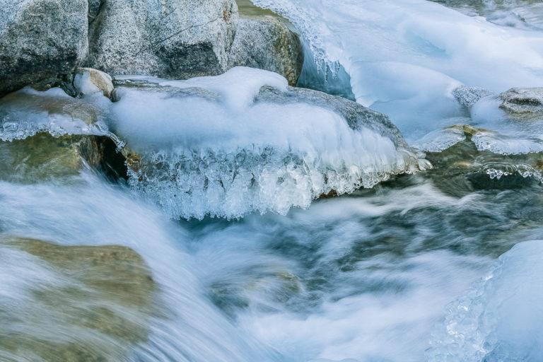 Eisfluss Ullay Ladakh