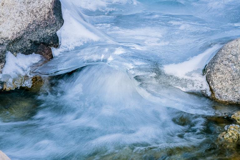 Eisfluss, Ullay, Ladakh