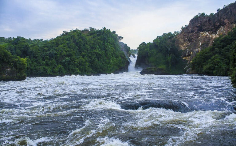 Fotoreise Uganda, Murchinson Falls in Uganda Afrika