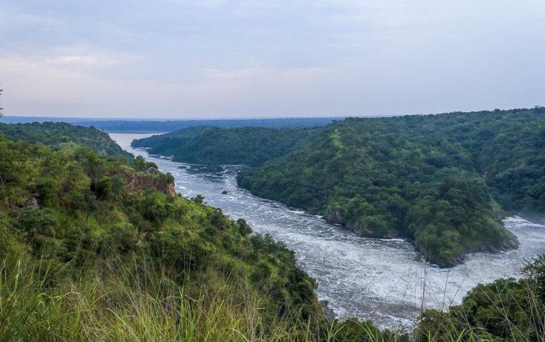 Fotoreise, Murchinson Falls in Uganda Afrika
