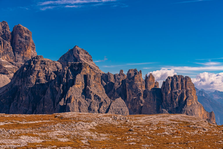 Dolomiten tre cime di Lavaredo, Talblick